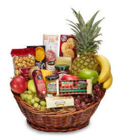 Extra Large Fruit and Gourmet Gift Basket