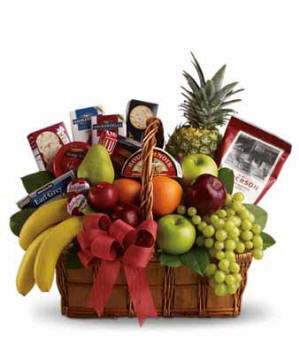 Executive Fruit and Gourmet Basket