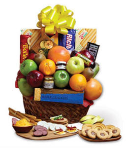 South Carolina Fresh Fruit and Snacks Gift Basket $49.99