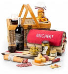 Picnic Personalized Wine Basket 145.95
