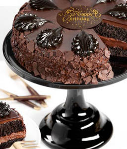 Chocolate Mouse Torte Birthday Cake $59.99 Fast Delivery