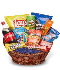 Deluxe Junk Food Basket
