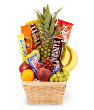 Utah Fruit and Candy Basket