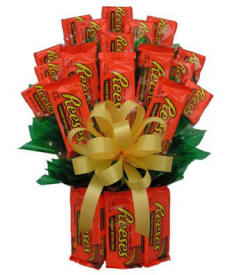 Reeses Peanut Butter Candy Bouquet